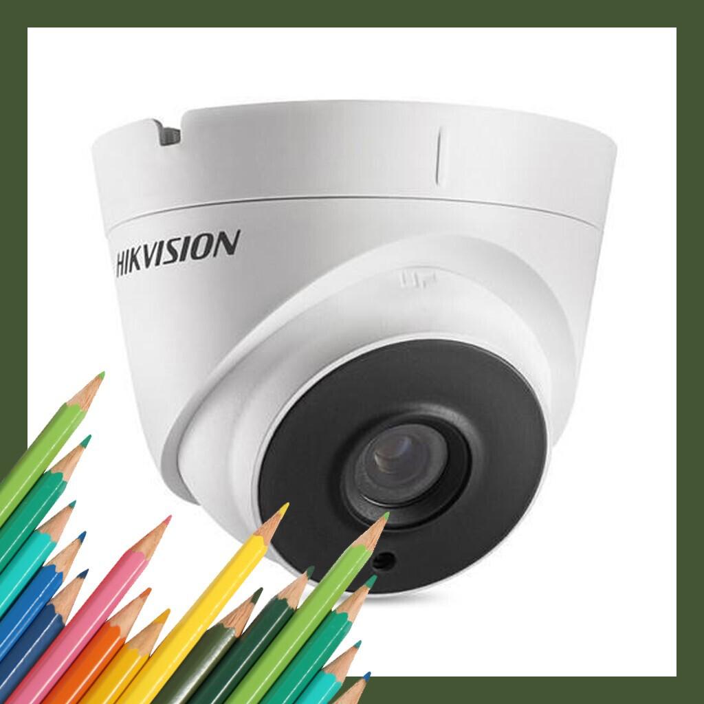(Hàng Cực Hot) Camera HD-TVI bán cầu ngoài trời 1 MP HIKVISION DS-2CE56C0T-IT3-Màu trắng