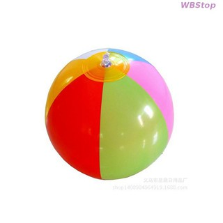 new arrive Children's toys/color PVC inflatable six / three pieces of beach ball✸honestop✸