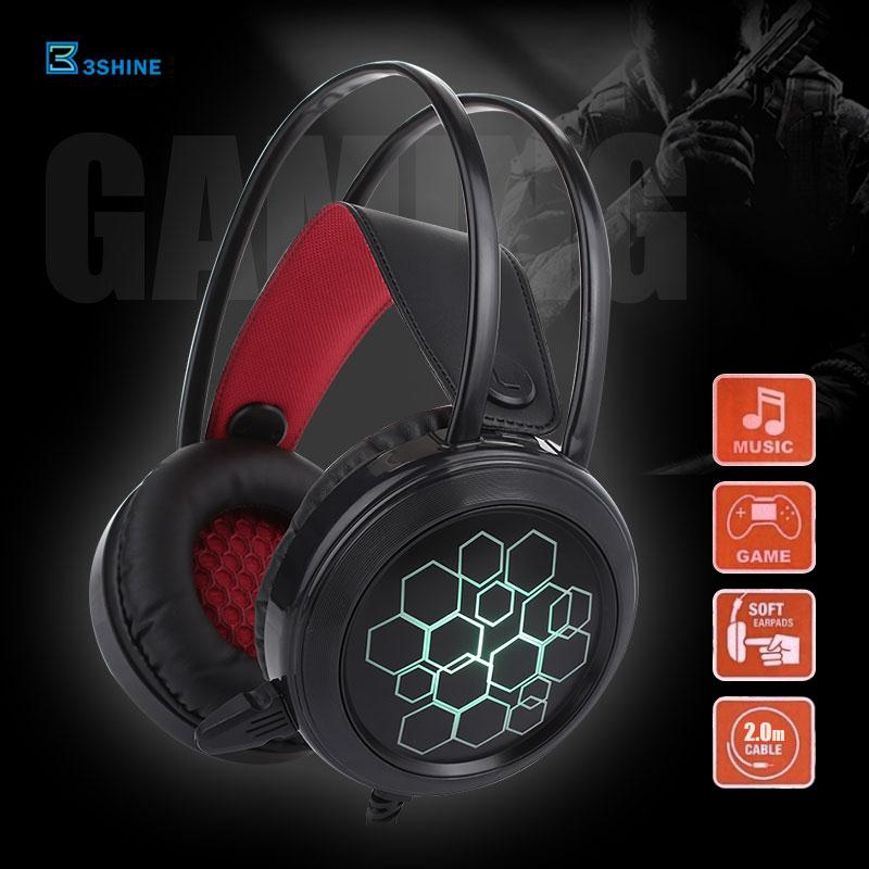 3se Gaming Headset Headphone 3.5mm Stereo Noise Reduction Ps4 Giá chỉ 148.400₫