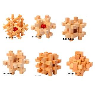 Đồ chơi trí tuệ – Giải đố gỗ (Wood puzzle)