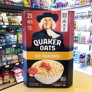 Yêu Thích[Mã GROMSFD hoàn 8% đơn 199K] [Mẫu mới nhất 2020] Yến Mạch Mỹ Quaker Oats Old Fashioned 4,52kg