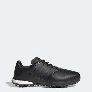 adidas GOLF Giày golf polyester tái chế Performance Classic Nam Màu đen FW6275 thumbnail