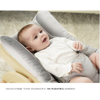 SAGEPOLE Ghế rocking chair made in Hàn cho bé ngồi đến năm 6 tuổi