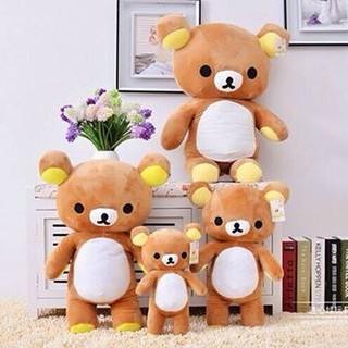 Gấu Bông Rilakuma Siêu Mềm Siêu Dễ Thương – Chất Liệu Cao Cấp – Kích Thước 55cm