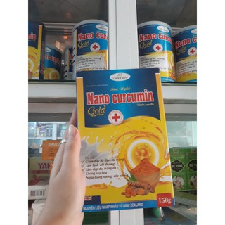Sữa nghệ NANO CURCUMIN GOLD Detox Milk 150 gam