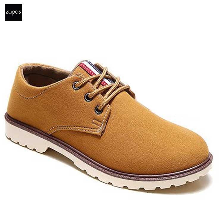 Giày Sneaker Thời Trang Nam Zapas – GS052 ( Nâu )