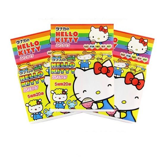 (Tách lẻ) Gia vị rắc cơm Hello Kitty: có 5 vị khác nhau