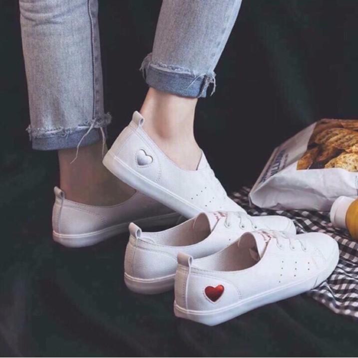 Giày thể thao nữ trái tim (ảnh thật ở cuối link)