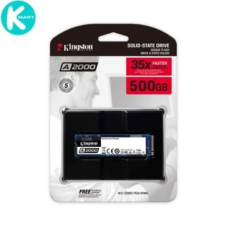 Ổ cứng SSD Kingston A2000 NVMe PCIe Gen 3.0 x4 500G - Hàng Chính Hãng