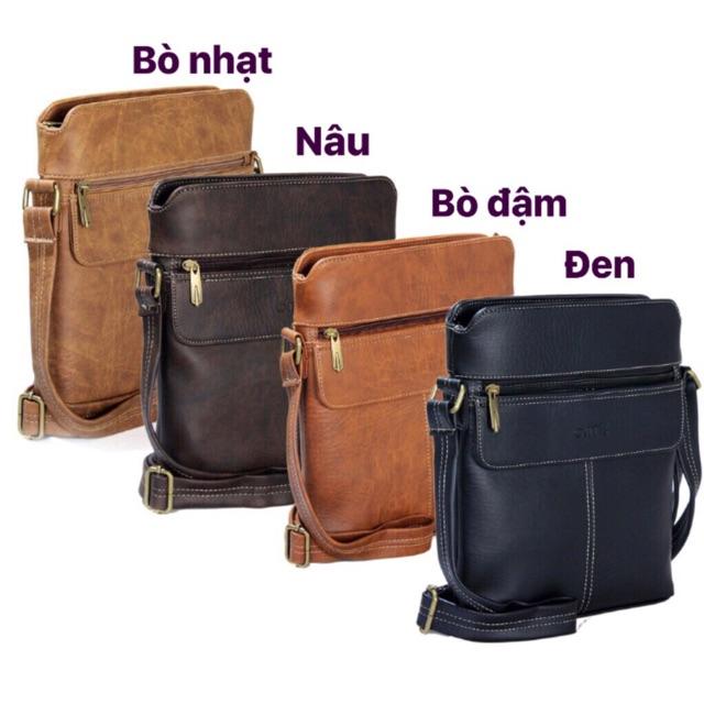 Túi đeo chéo CNT nam nữ đẳng cấp IPAD16 nhiều màu
