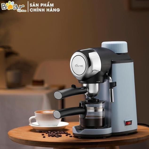 Máy pha cà phê hàng nhập khẩu Bear. Thiết kế sang trọng. Hương vị cafe đậm