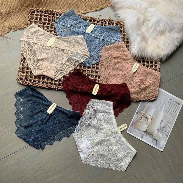 Quần lót ren Thái form to lưng cao -Quần lót nữ vải ren mềm mại gợi cảm