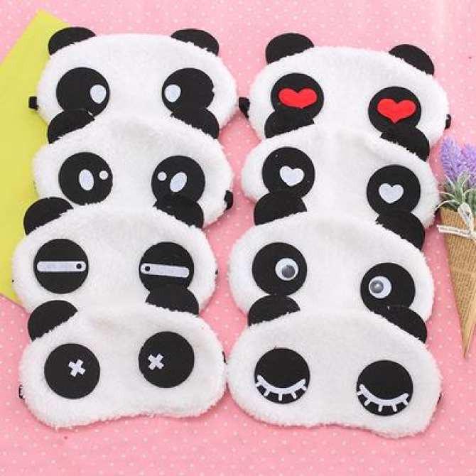 Tấm Bịt Mắt/Che Mắt Ngủ Hình Gấu Panda (Giao ngẫu nhiên)