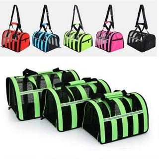 Túi vận chuyển chó mèo tặng thảm lót, Túi vận chuyển dạng lưới thumbnail