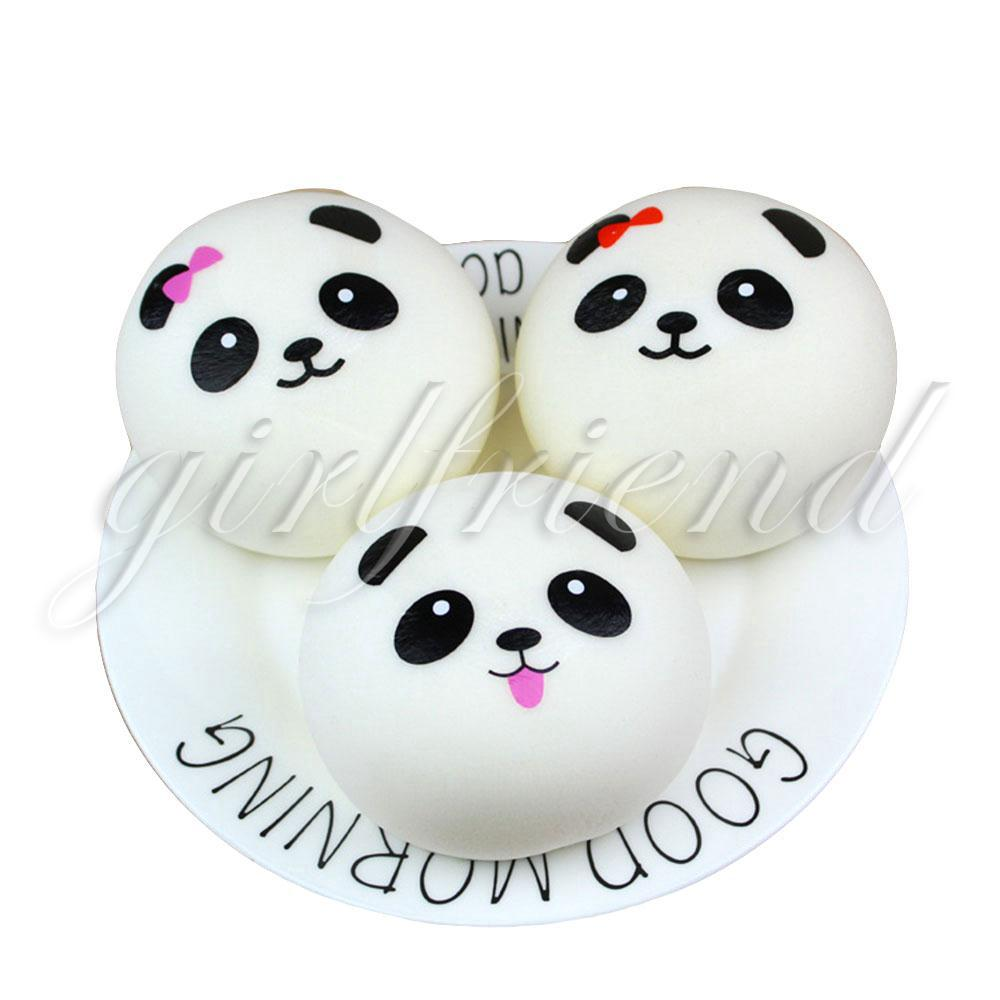 Squishy Cute PU Strap Emulated Bread