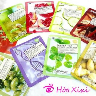 Gói 10 miếng Mặt Nạ 3D Foodaholic Natural Essence thumbnail
