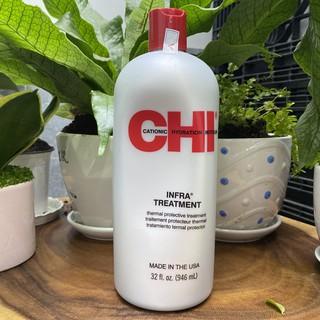 Dầu xả dưỡng tóc CHI Infra Treatment phục hồi tóc khô và hư tổn 946ml thumbnail