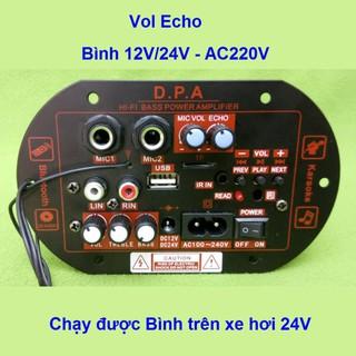 Mạch loa kéo công suất 100W - 120W Bluetooth Karaoke Loa kéo 2.5 - 3 tấc Đ