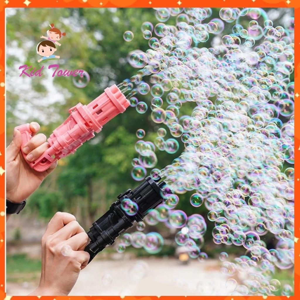 Súng bắn bong bóng xà phòng 8 nòng siêu mạnh