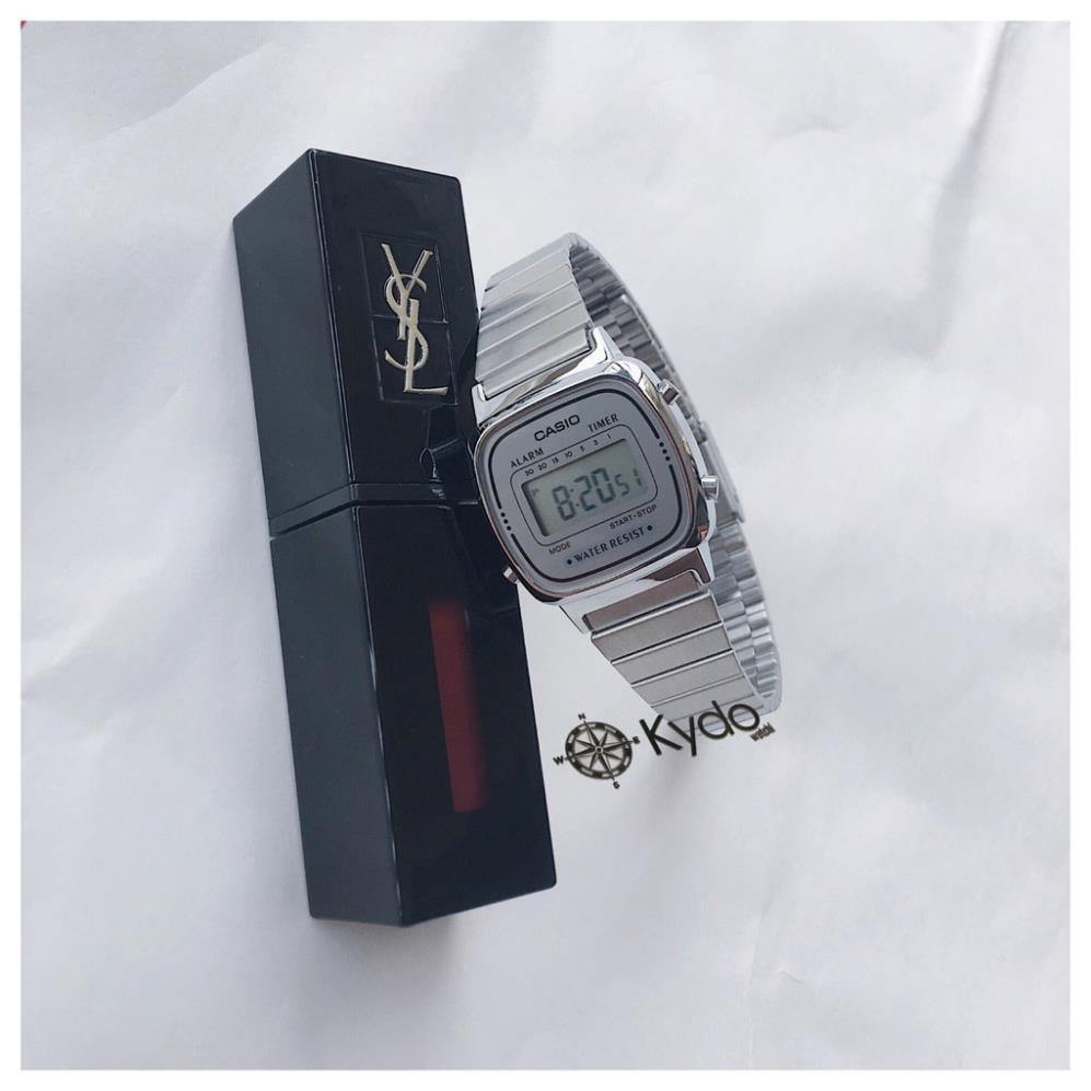 Đồng hồ nữ Casio LA670 WA-1JF - Hàng Chính hãng xách tay Nhật (Tặng hộp Thiếc CASIO)