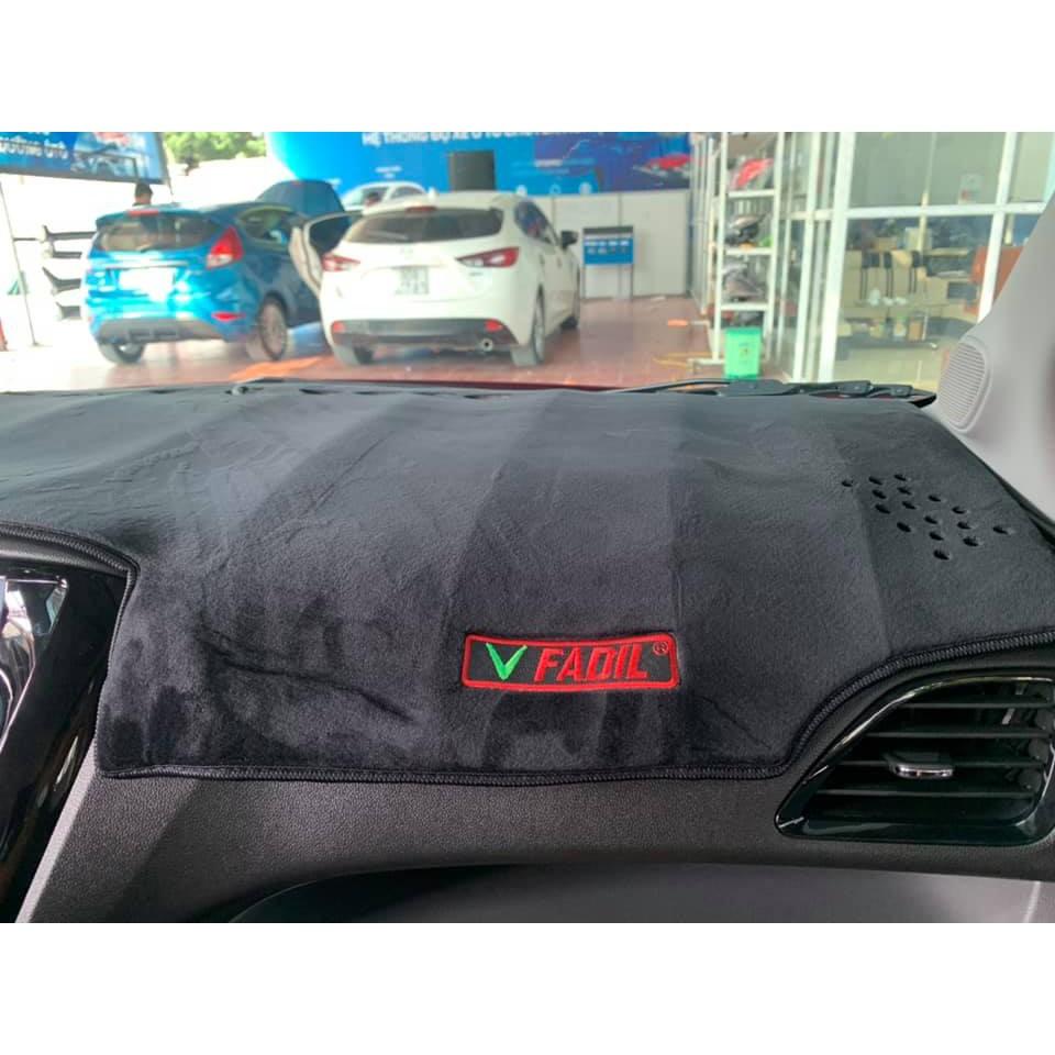 Thảm táp lô Vinfast Fadil Nhung Không Mùi