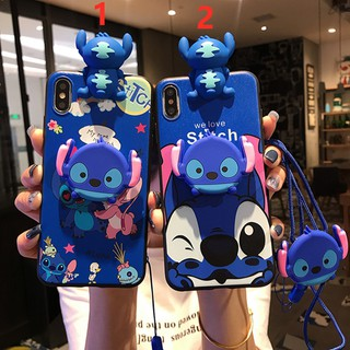 FOR OPPO A7 A5S A3S A37 A83 A57 A39 A71 Lanyard Stitch Soft phone Case