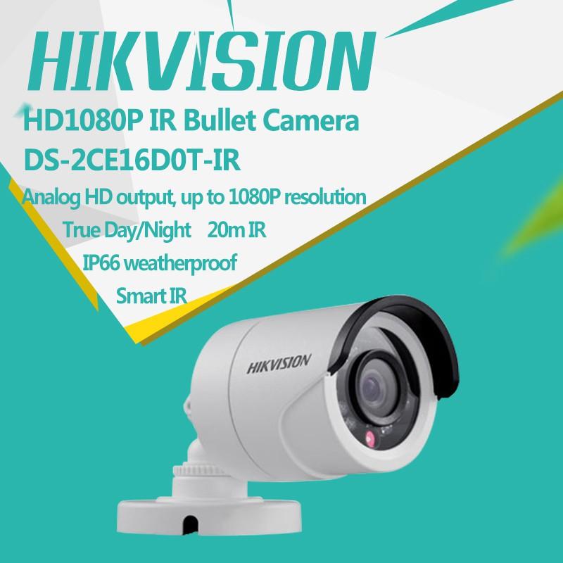 Camera Hồng Ngoại FULL HD 2 MEGAPIXEL HIKVISION DS-2CE16D0T-IR