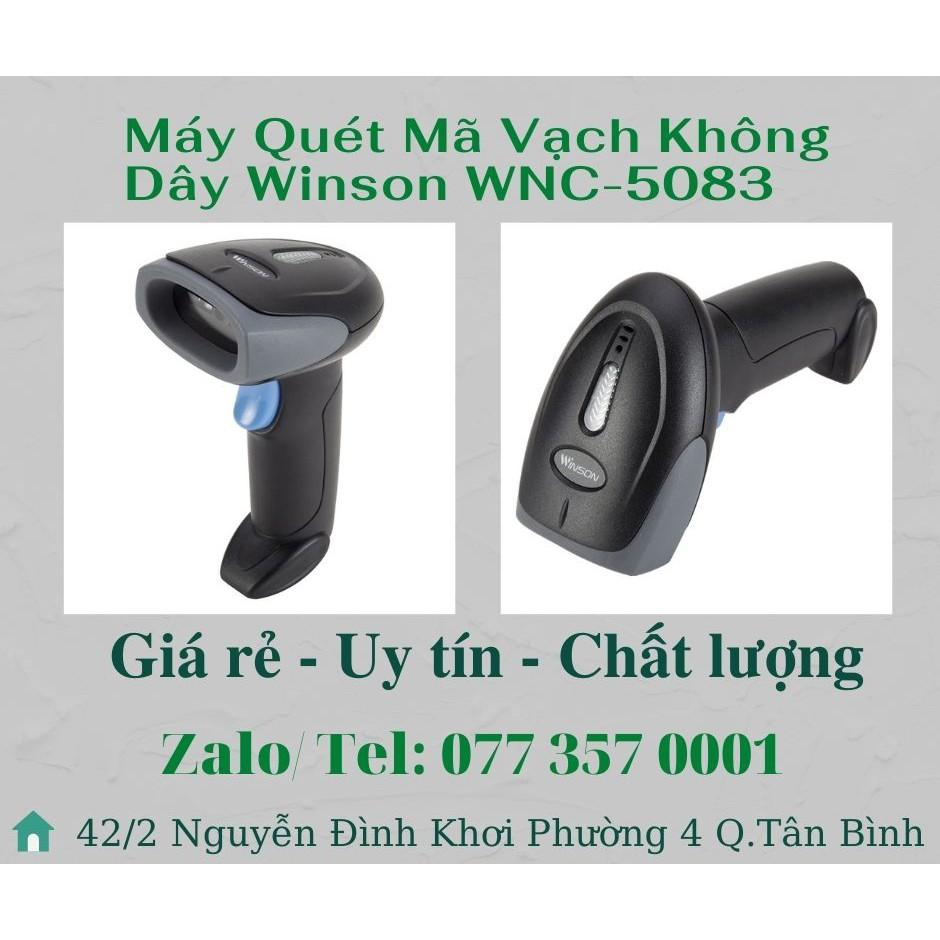 Máy Quét Mã Vạch Không Dây Winson WNC-5083 (bảo hành 12 tháng)