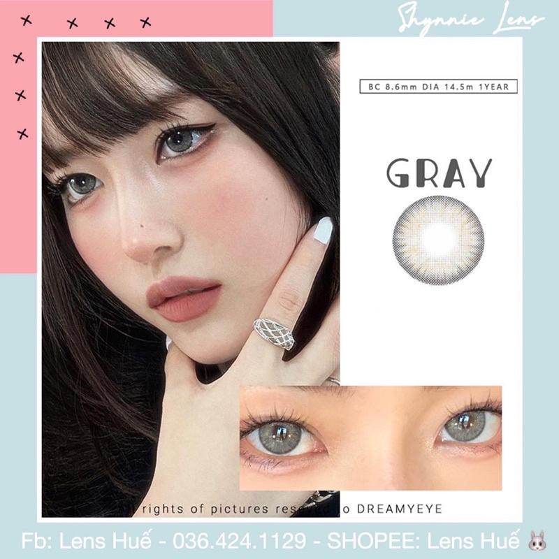 Lens mắt ( kính áp tròng ) xám tây - hạn sử dụng 12 tháng ( Lens Huế )