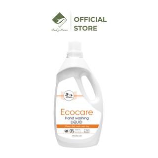 Nước Rửa Tay Dạng Bọt tinh dầu ECOCARE 1000ml. Khử mùi, khử khuẩn, bảo vệ da tay. thumbnail