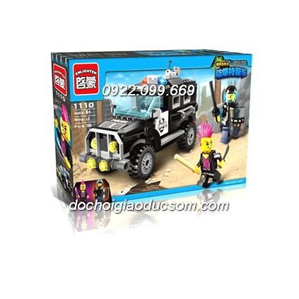 Bộ lego xe cảnh sát - police car