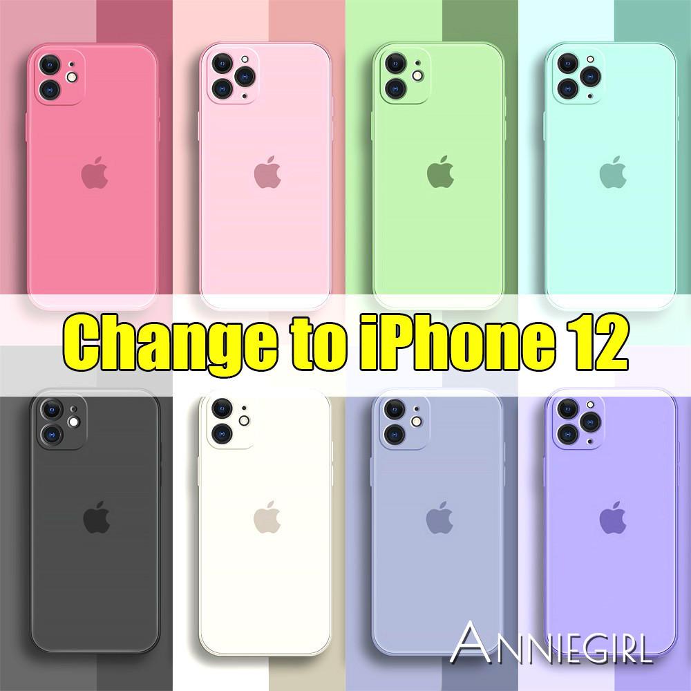 Ốp Điện Thoại Màu Sắc Hợp Thời Trang Dành Cho Iphone 12 11 Pro Max X Xs Max Xr 8 7 Plus