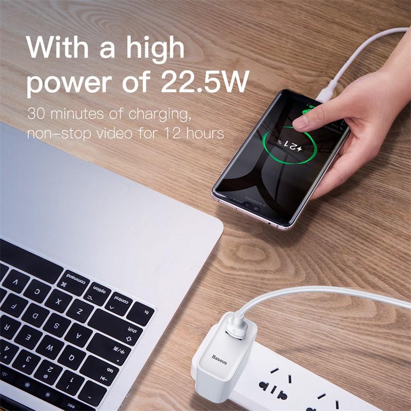 Cốc sạc nhanh Baseus 22.5W cho thiết bị Huawei