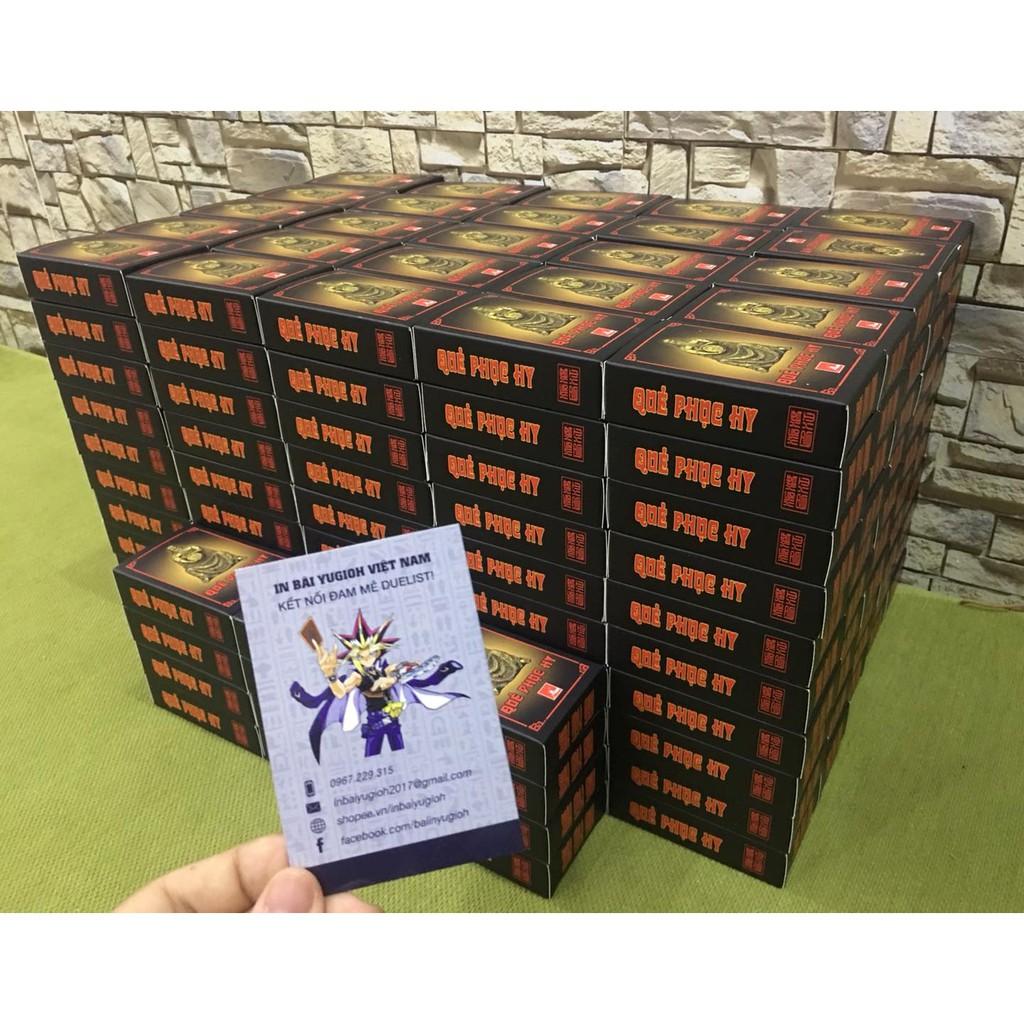 [CỰC HOT] Bộ 64 lá bài quẻ phục hy