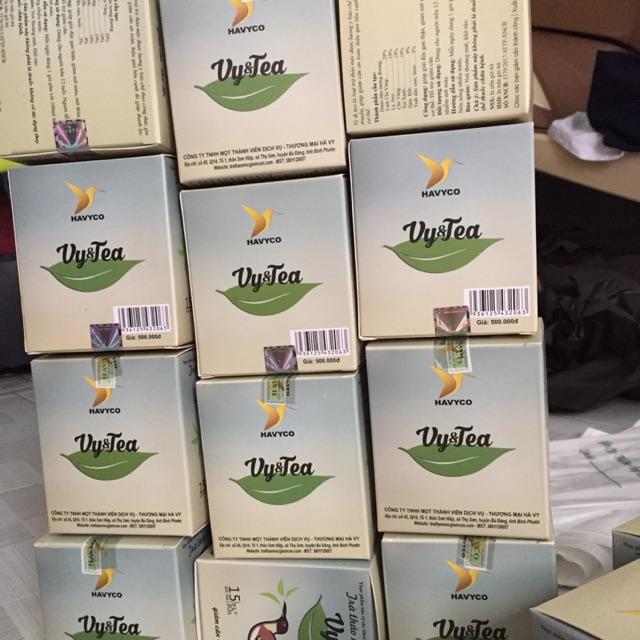 Com bo 10 trà giảm cân vy&tea( hàng cty)
