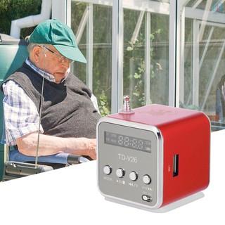 【E&V】3.5mm Wired Mini Speaker Portable MP3 Player FM Radio Music Amplifier Support TF Card U Disk Loudspeaker for DVD Laptop Mobile Phone