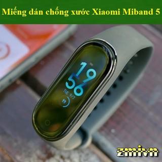 [Miband 5] Miếng dán bảo vệ màn, chống xước Xiaomi miband 5