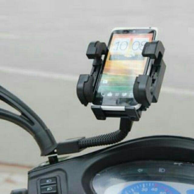 Giá đỡ điện thoại cho xe máy