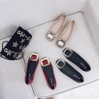 [MGG giảm 30k - UYEN08031](Ảnh thật) Giày búp bê nhựa mềm siêu êm thumbnail
