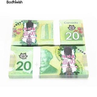 ☎100Pcs Double-Sided Color Canada 20 C$ Commemorate the Collection Banknotes