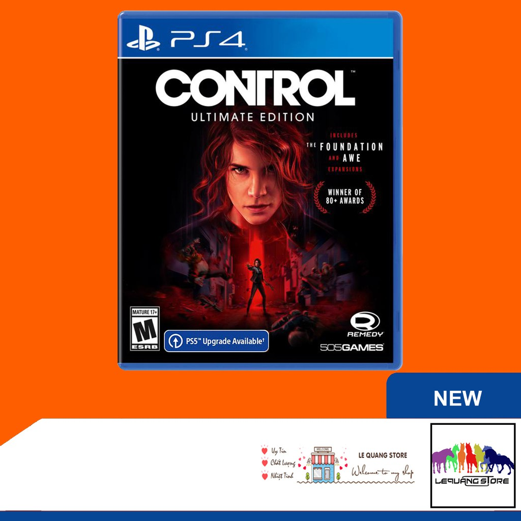 Đĩa Game PS4: Control Ultimate Edition