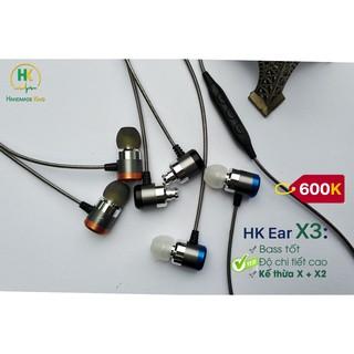 Tai nghe Thủ công HK Ear X3, Có mic, Chi tiết cao thumbnail