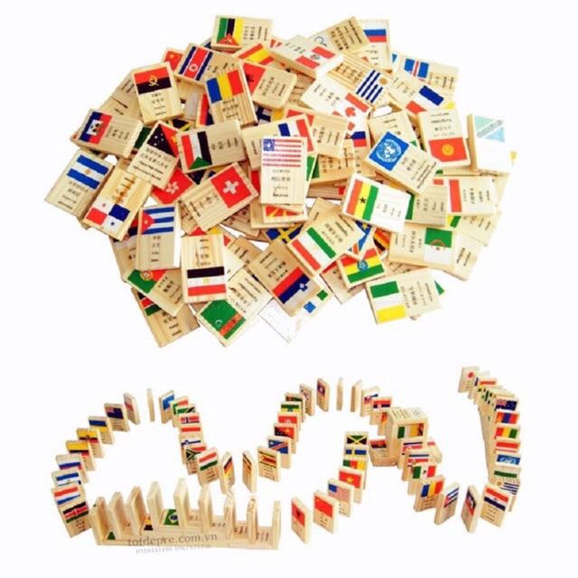 Đồ chơi gỗ Bộ Domino 100 hình quốc kì - 14443876 , 2091275176 , 322_2091275176 , 235000 , Do-choi-go-Bo-Domino-100-hinh-quoc-ki-322_2091275176 , shopee.vn , Đồ chơi gỗ Bộ Domino 100 hình quốc kì