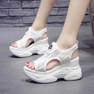 giầy sandal đế xuồng cao 9cm