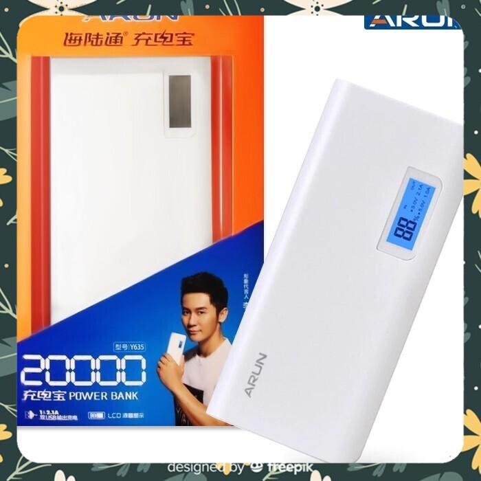 [Giá Rẻ - Hàng Đẹp] Pin sạc dự phòng hãng ARUN 20000mAh