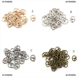 go shopping 5.5mm Mini Metal Buckle DIY Doll Dress Patchwork Handmade Craft Sewing Accessory thumbnail