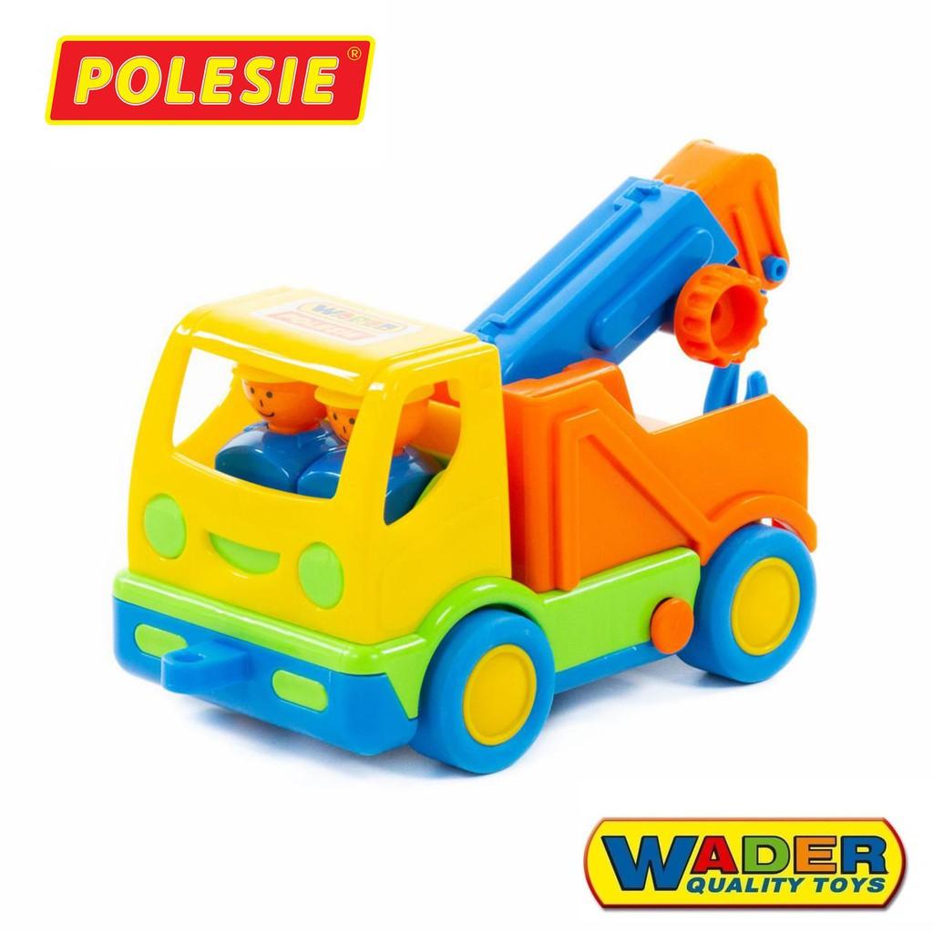 [Mã TOYNOV giảm 10% tối đa 15K đơn từ 50K] Xe cẩu HaLi đồ chơi – Polesie Toys