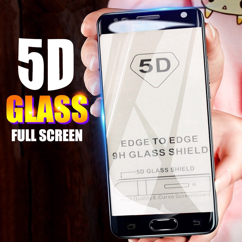 Huawei Honor 8A / Y6 Y7 Pro / Prime 2019 5D Full Screen Coverage Tempered Glass Film