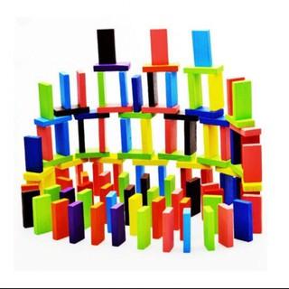 Trò chơi xếp domino gỗ