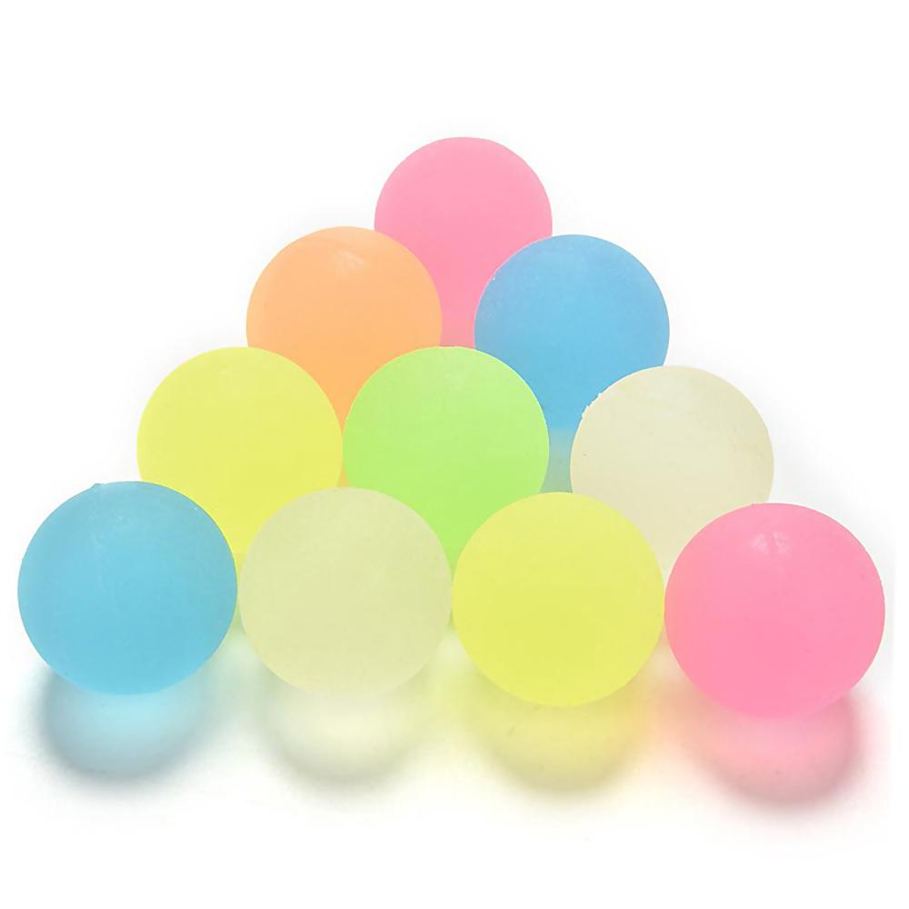 10Pcs/Set 22mm Kids Rubber Bounce Ball Lot Bouncing Toy for Party Game Favors